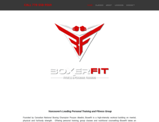 boxerfit.ca screenshot