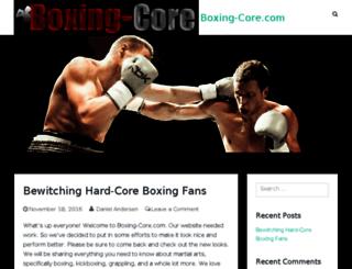 boxing-core.com screenshot