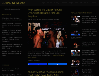 boxing247.com screenshot