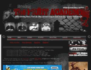 boxingfighttv.blogspot.com screenshot