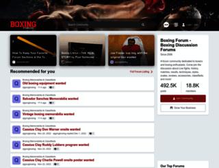 boxingforum.com screenshot