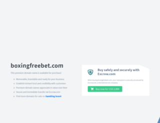boxingfreebet.com screenshot