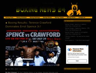 boxingnews24.com screenshot