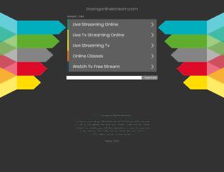 boxingonlinestream.com screenshot