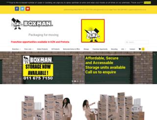 boxman.co.za screenshot