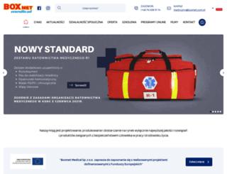 boxmetmedical.com.pl screenshot