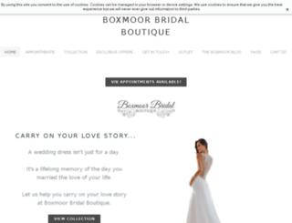 boxmoorbridal.co.uk screenshot