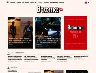 boxoffice.com screenshot