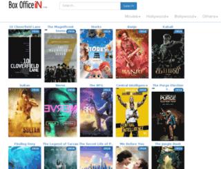 boxofficein.com screenshot