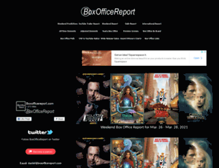 boxofficereport.com screenshot