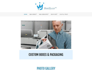 boxpackaging.com screenshot
