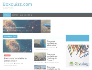 boxquizz.com screenshot