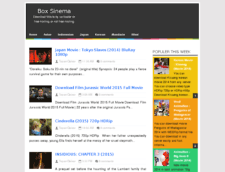 boxsinema.blogspot.com screenshot