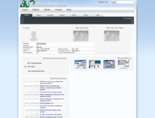 boxxigraphics.wincustomize.com screenshot