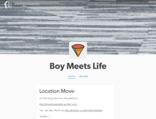 boy-meets-life.tumblr.com screenshot