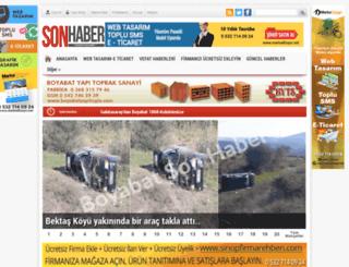 boyabatsonhaber.com screenshot