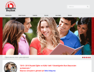 boydakegitimvakfi.org screenshot