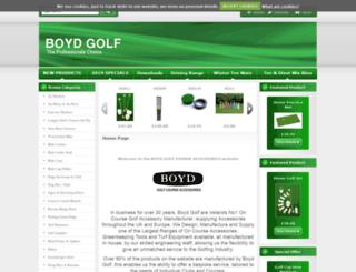 boydgolf.co.uk screenshot