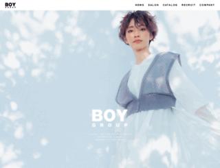 boygroup.co.jp screenshot