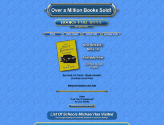 boysbookshelf.com screenshot