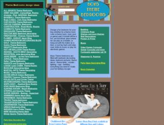 boysthemebedrooms.com screenshot