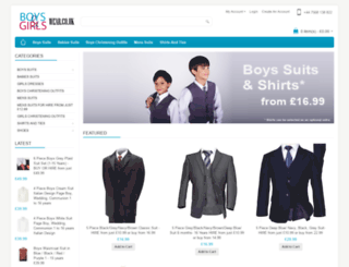 boyswear.co.uk screenshot