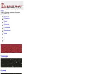 boyutgranit.com.tr screenshot