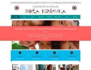 bozakrowka.org screenshot