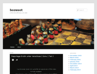 bozesot.wordpress.com screenshot