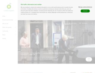 bp.co.uk screenshot