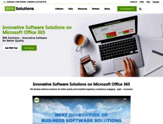bpa-solutions.ch screenshot