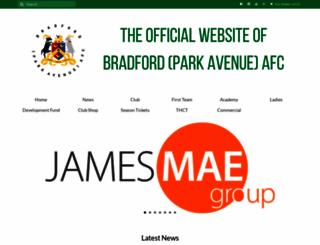 bpafc.com screenshot