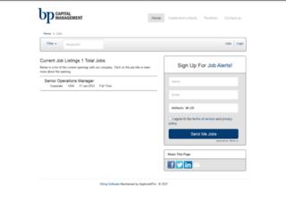 bpcap.applicantpro.com screenshot