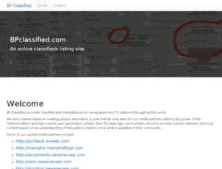 bpclassified.com screenshot