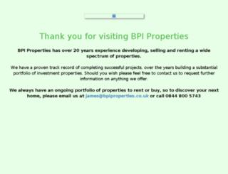 bpiassociates.com screenshot