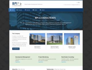 bpiconsultants.ca screenshot