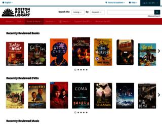 bpl.bibliocommons.com screenshot