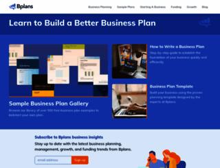 bplans.com screenshot