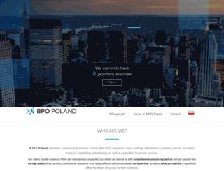 bpo-poland.pl screenshot