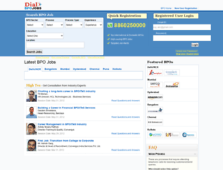 bpo.timesjobs.com screenshot