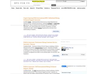 bpoforus.blogspot.in screenshot