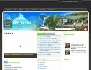 bpptepus.gunungkidulkab.go.id screenshot