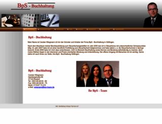 bps-buero.de screenshot