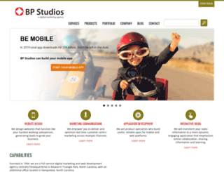 bpstudios.com screenshot