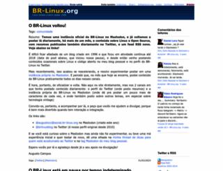 br-linux.org screenshot