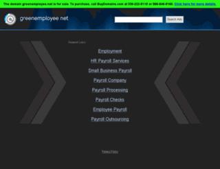 br.greenemployee.net screenshot