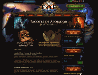 br.pathofexile.com screenshot