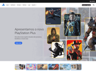 br.playstation.com screenshot
