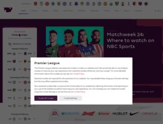 br.premierleague.com screenshot