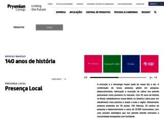 br.prysmiangroup.com screenshot
